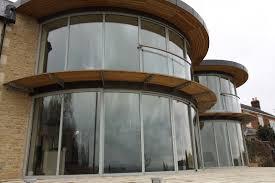 entry door curved glass patio doors