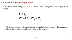 how to find total mechanical energy