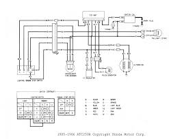 atc 250r wiring diagrams and schematics 1985 1986 250r wiring