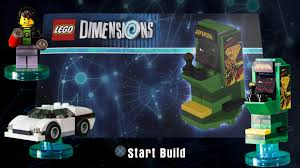 Arcade Cabinet Dimensions Lego Dimensions Arcade Machine Build Instructions Midway Arcade