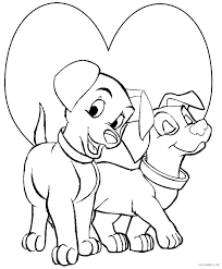 Cute Puppy Coloring Pages To Print Cute Puppy Cute Coloring Pages Of