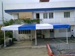 garage tent cover front
