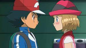 Pokémon officially presents the scene of the kiss between Ash and Serena -  Memesita