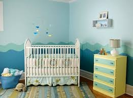 Small Picture Baby Boys Nursery Room Paint Colors Theme Design Ideas Seaside