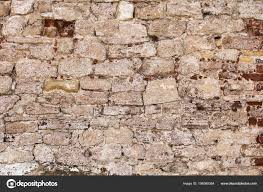 very old brick wall under construction texture concept stock photo