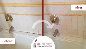 this manhattan homeowner s moldy bathroom recovered its original beauty with a grout cleaning job