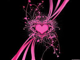 Black And Pink Hearts Under Fontanacountryinn Com