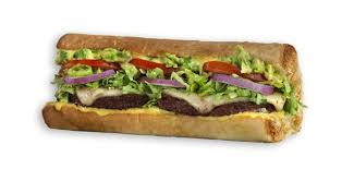 Black Bean Patty Sandwich Which Wich Build Your Own Sandwiches