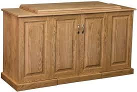 33% f Sewing Machine Cabinet in Oak