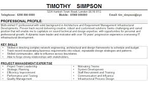 Software Engineer Cv Sample