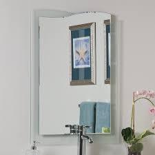 Bathroom Frameless Mirrors Shop Decor Wonderland Tula 236 In W X 315 In H Frameless