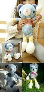 Easy Crochet Teddy Bear Pattern Custom Decoration