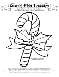 Small Picture dulemba Coloring Page Tuesday Candy Cane
