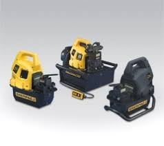 hydraulic electric pumps zu series portable pump enerpac zu4 series hydraulic portable electric pumps