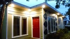 spectacular outdoor lighting under eaves f35 about remodel image