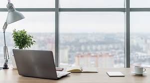 Natural office lighting Daylight Redirecting Workplace With Comfortable Work Table Windows And City View Facilitiesnet Natural Light Tops Office Amenities List Facility Management