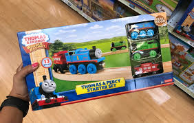thomas friends wooden railway sets 50 off at toys r us the krazy lady