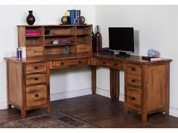 l shape office desks. Elegant L Shaped Office Desk For Your Home Design: Rustic Wood Shape Desks E