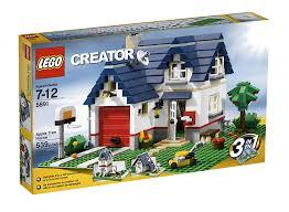 Lego Full House Amazoncom Lego Creator Apple Tree House 5891 539 Piece Set