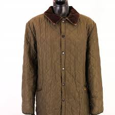 Barbour Size Chart Mens Details About S Barbour Mens Jacket Quilted Husky Brown M