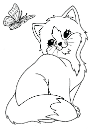 Kitty Coloring Pages Puppy And Kitty Coloring Pages Kitten Coloring