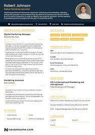 Example Of Marketing Resumes Marketing Resume Example Update Yours Now For 2019