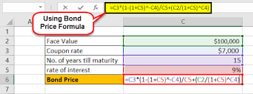 Pricing Model Excel Template Bond Pricing Formula How To Calculate Bond Pricing Excel
