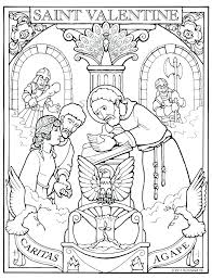 Coloring Saint Coloring Pages Page Catholic All Saints Catholic