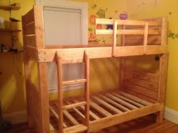 bunk bed with stairs plans. Image Of: Classic Bunk Bed Plans With Stairs