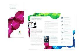 Tri Fold Brochure Template Mac Word Brochure Template Fold Free