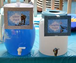 frozen party theme drink ideas