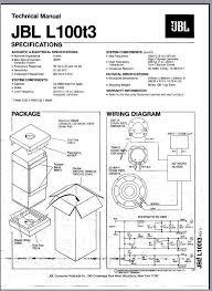 jbl crossover wiring diagram wiring diagram libraries jbl l100t3 wiring diagram data wiring diagram schemajbl crossover wiring diagram page 3 wiring diagram and