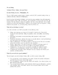 Creative Writing Resume Sample Technical Resume Tips Senior Project ...