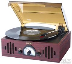 Виниловый <b>проигрыватель ION Audio Trio</b> LP — купить в ...