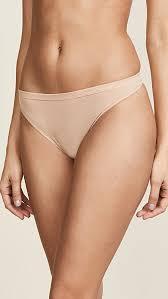 <b>Calvin Klein</b> Underwear <b>Pure</b> Seamless Thong | SHOPBOP