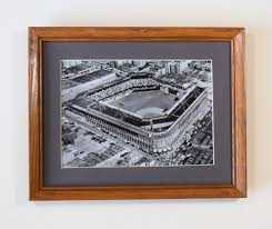 Ebbets Field Seating Chart Ebbets Field Home Of The Brooklyn Dodgers 1952 World Series Vintage Sports Wall Hanging
