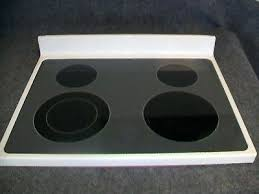 whirlpool range oven main top glass bisque double replacement parts