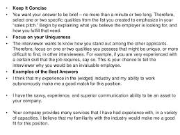 Why Should We Hire You Best Answer