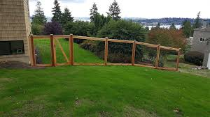 wood and wire fences. Fullsize Of Scenic Tall Invisible Rolled Wire Fence Cedar River Construction Make Your Deck 24 Wood And Fences