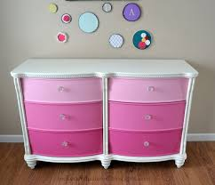 pink and white furniture. dresser pink and white furniture