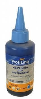 <b>Чернила ProfiLine</b> Canon <b>PL</b>-<b>CLI</b>-<b>521C</b> Cyan 100мл: купить за 180 ...
