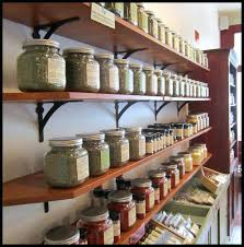 display shelves rustic wood retail wall shelves