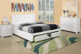 white platform bed with drawers. Furniture:White Platform Bed With Storage Cute White 15 F9314Q Drawers R