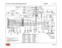 caterpillar c10 c12 3176b 3406e engine wiring diagram schematic caterpillar c10 c12 3176b 3406e engine wiring diagram schematic laminated