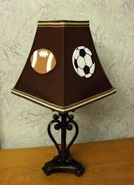sports lamp shade game day sports lamp shade by on a must for baby sports themed lamp shades