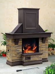 sunjoy outdoor fireplace kits for