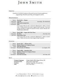 College Graduate Resume Sample Interesting College Graduate Resume Samples Luxury College Graduate Resume