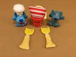 shovel and pail blues clues. HTF Blues Clues FIGURES Baker SHOVELS And PAIL Lot Set Shovel Pail
