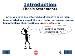 thesis statement ppt thesis statement ppt  the thesis statement