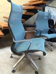 setu lounge chair. herman miller lounge peacock blue setu chair